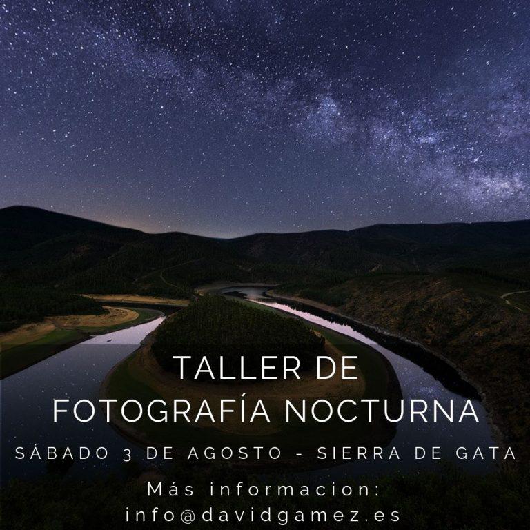 Taller fotografía nocturna