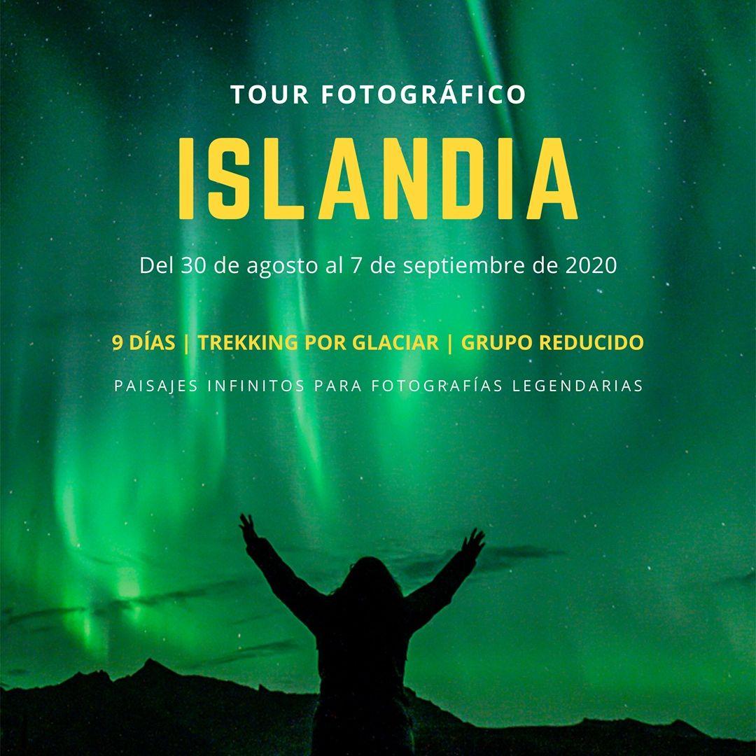 Tour fotográfico Islandia